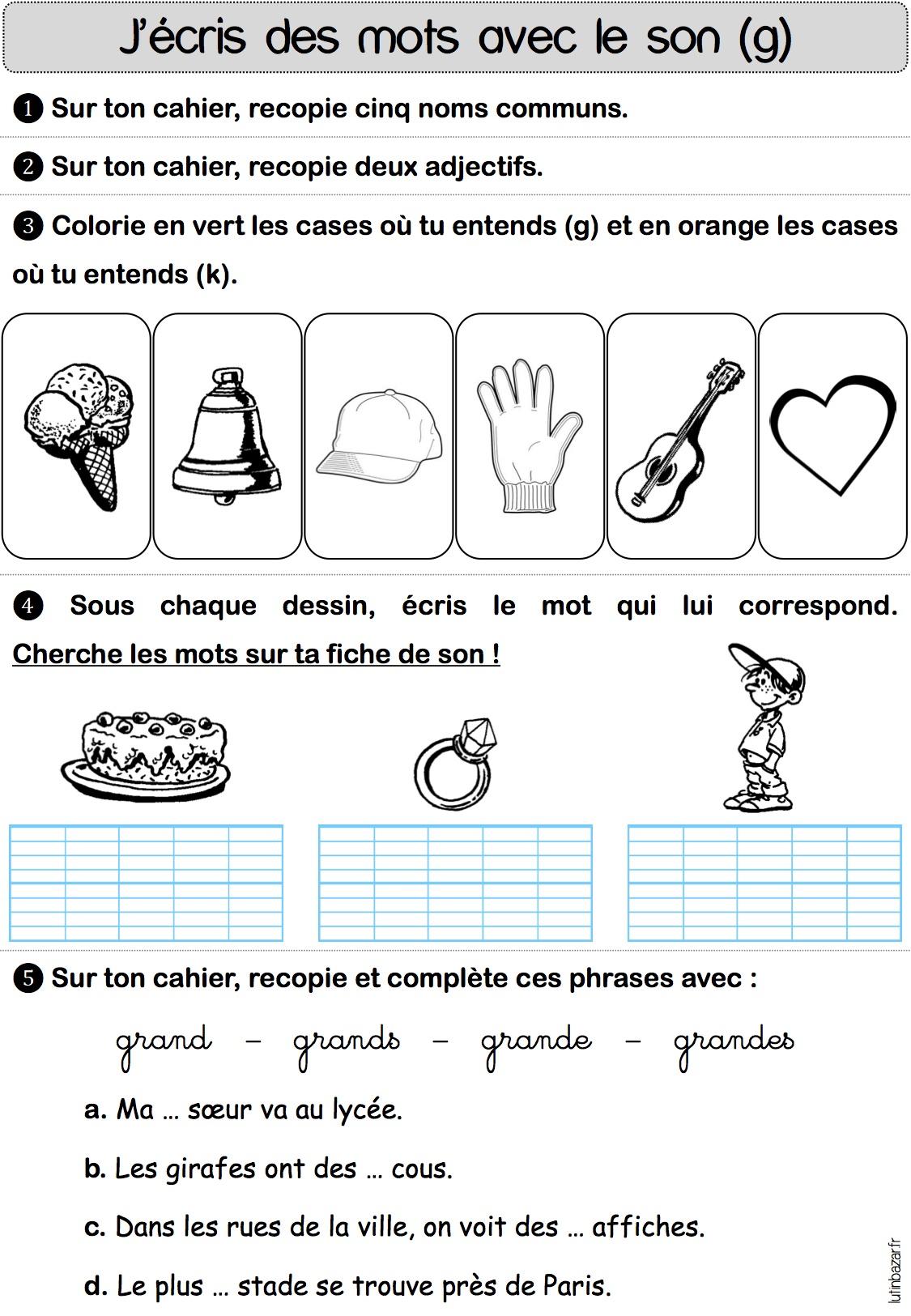 Francais Ce1 Rpi Bonneuil Angeac Bouteville